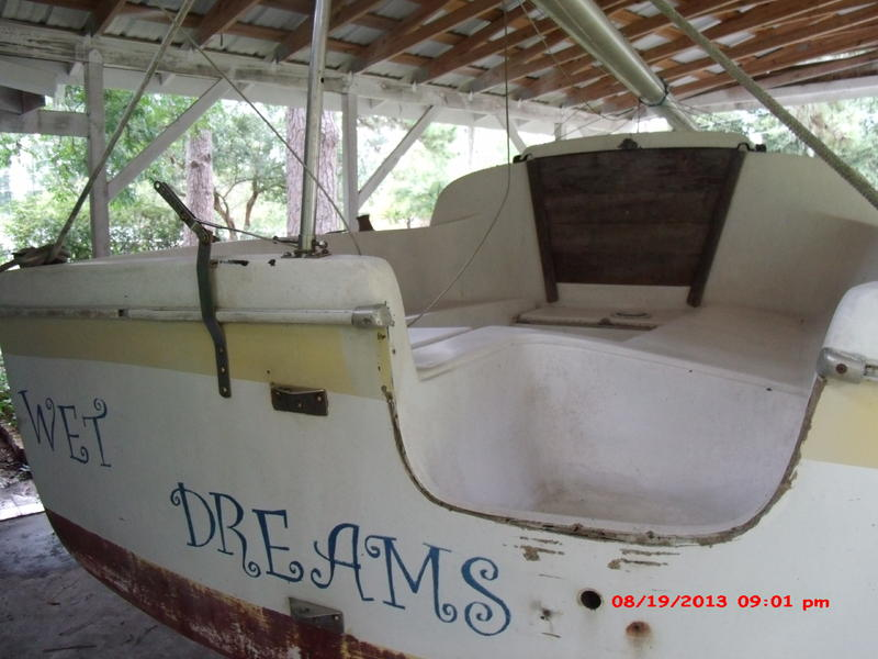 1972 Clipper Marine USA Clipper Marine 21 Sailboat For