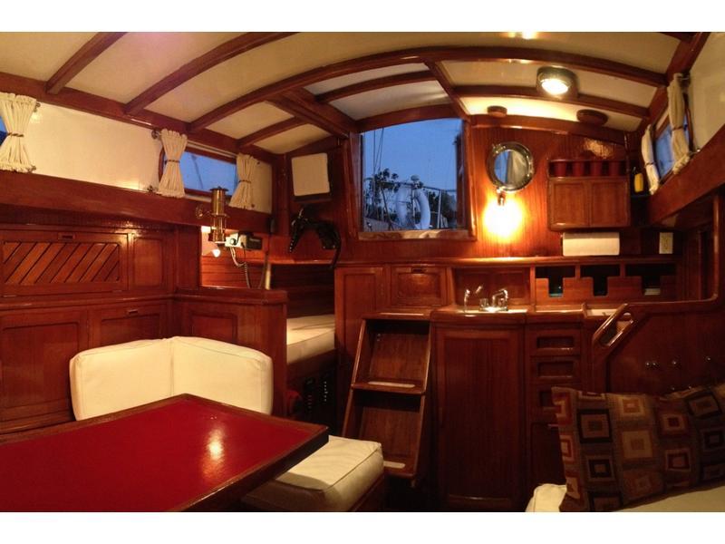 1974 Fuji Ketch 35 Sailboat For Sale In California