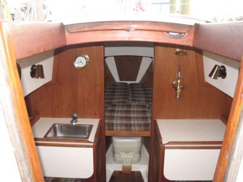 1984 Cape Dory 22 Sailboat For Sale In Maine