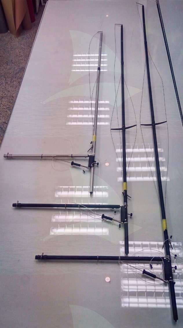 Complete mast with g/n and main boom C (No 3)