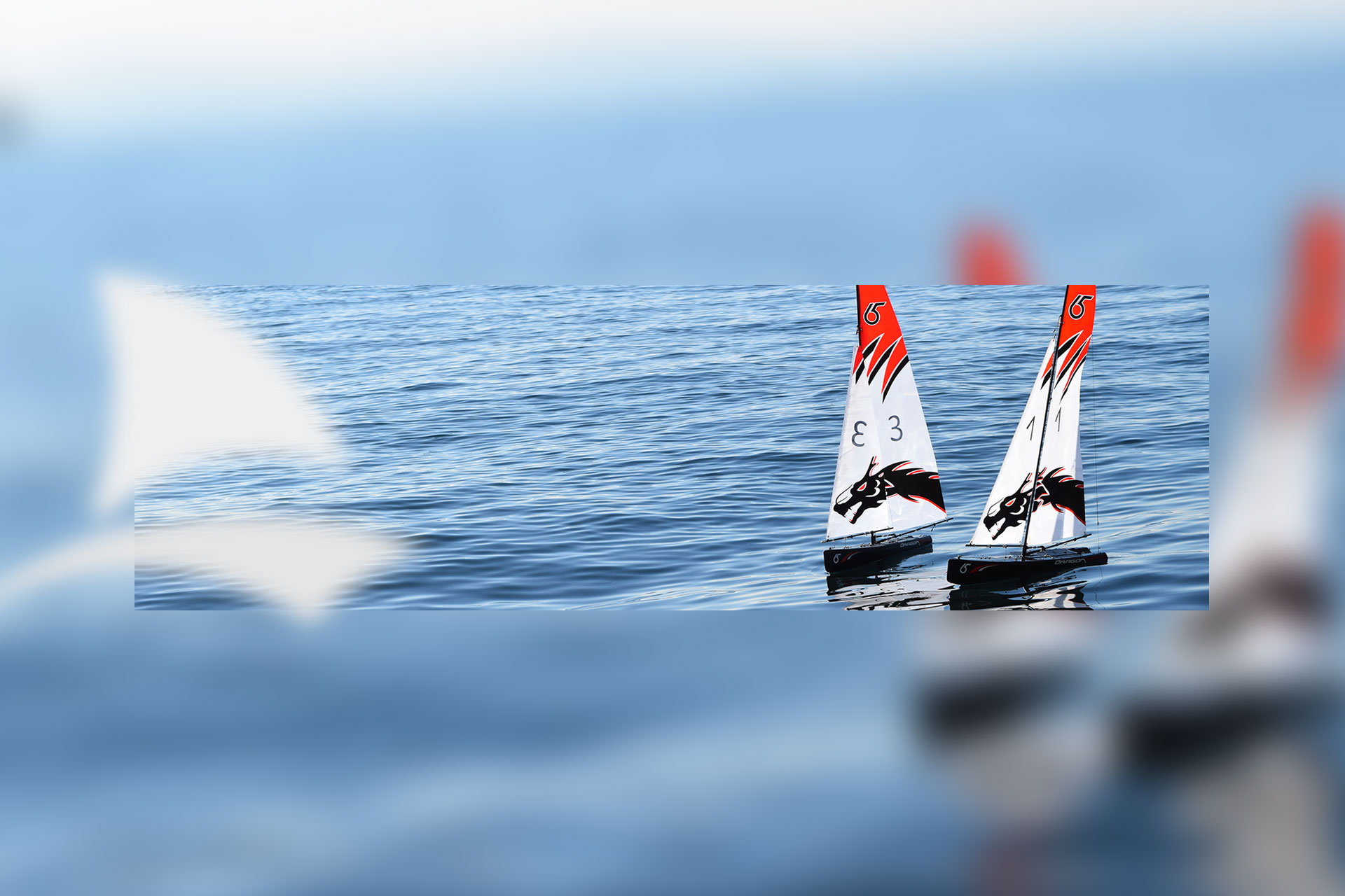 DF65 RC yacht RC sailboat main image product