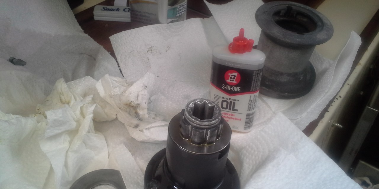Stripping and cleaning Barient 10P winches