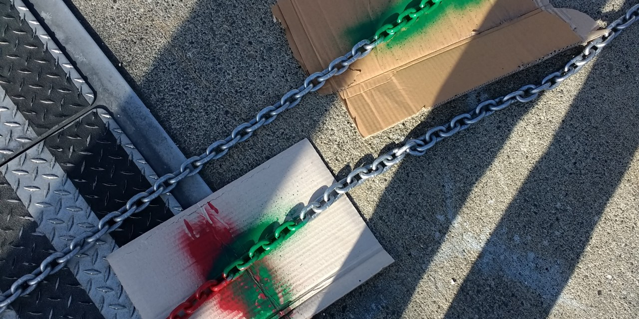 Adding more anchor chain