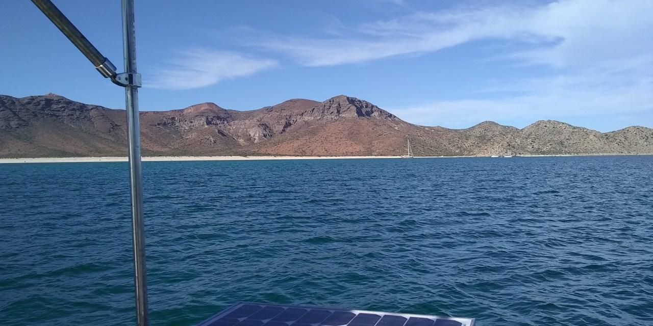 Heading to Mazatlán on the mainland