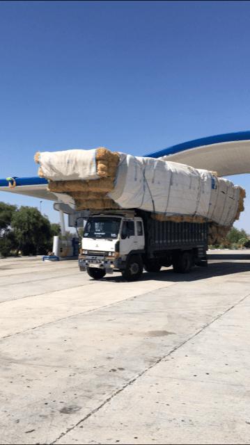 Marokko onderweg transport