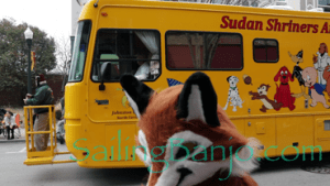 2018 Sudan Shriner's Parade in New Bern, NC Animated Animals