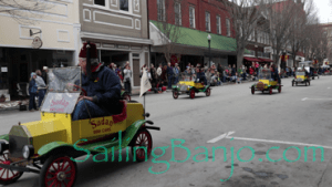 2018 Sudan Shriner's Parade in New Bern, NC Oldie Cars