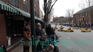 2018 Sudan Shriner's Parade in New Bern, NC roadsters