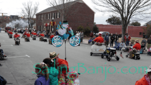 2018 Sudan Shriner's Parade in New Bern, NC Cooler Karts