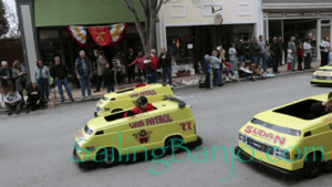 2018 Sudan Shriner's Parade in New Bern, NC Van Patrol