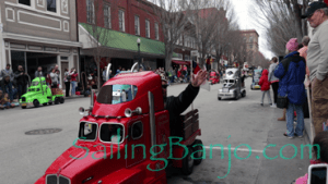 2018 Sudan Shriner's Parade in New Bern, NC Mini Semi Trucks