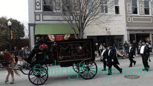2018 Sudan Shriner's Parade in New Bern, NC Mourners