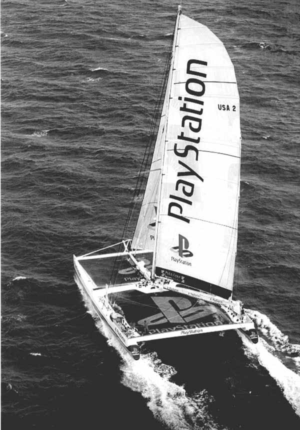 PlayStation Makes Speedy Atlantic Crossing