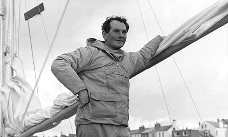 Donald Crowhurst on board the Teignmouth Electron. The boat was discovered unmanned in July 1969. Photograph: Eric Tall/Getty Images