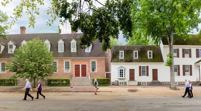 Le triangle historique : Yorktown – Williamsburg – Jamestown