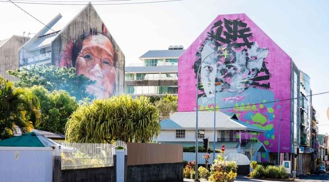 Papeete affiche ses murs