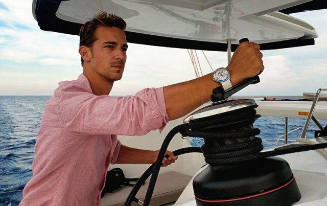 A Spinnaker watch is a great gift for anyone living a water based lifestyle