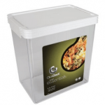 Clickclack containers, although a bit expensive, are great waterproof, airtight food storage boxes.