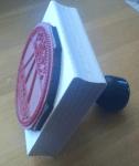 Wooden stamp block for Phoenix
