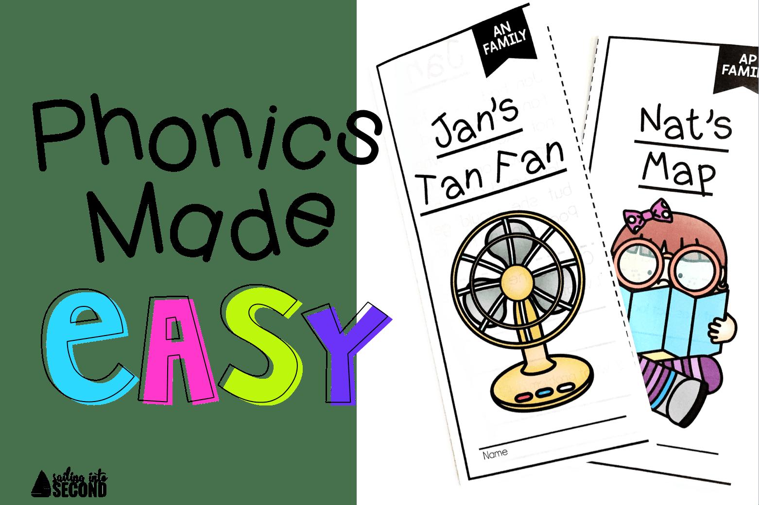 Phonics brochures