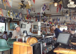 Vice Commodore Cary Evarts enjoys his guest status at the Waikiki Yacht Club. Photo: Karen Earnshaw