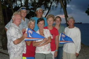The 2018 Mieco Beach Yacht Club officers. Photo: Shelley of Blowin' Bubbles