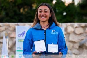 Giorgia Cingolani a Formia