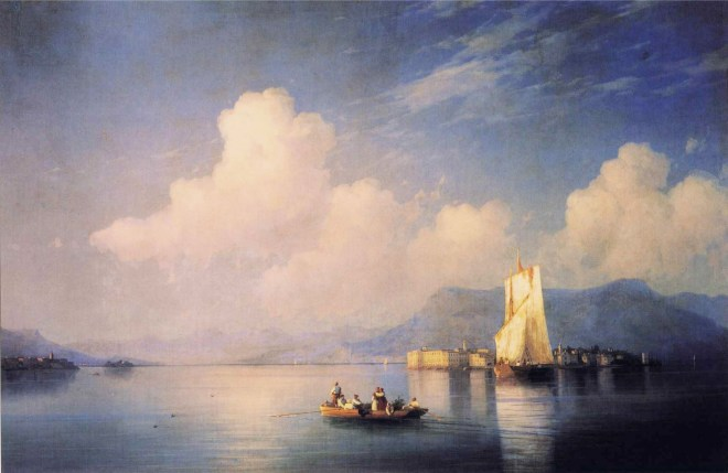 Lake Maggiore in the Evening 1892