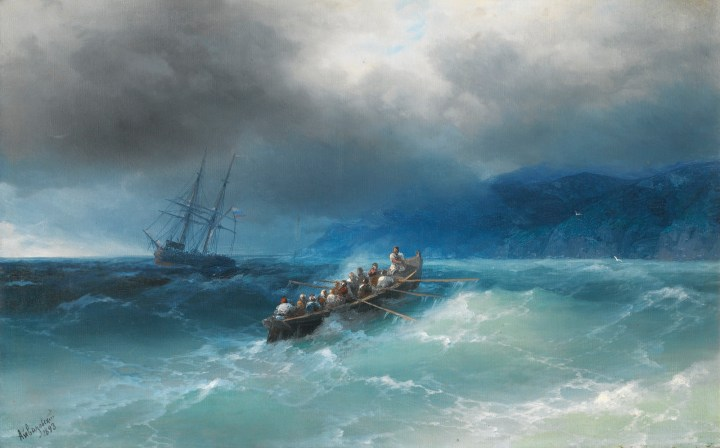 Storm over the Black Sea, 1893.