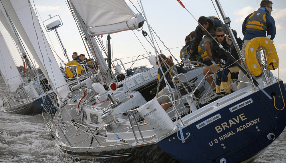Offshore Races Provide Ideal Training For Service Academies Gtgt Scuttlebutt Sailing News