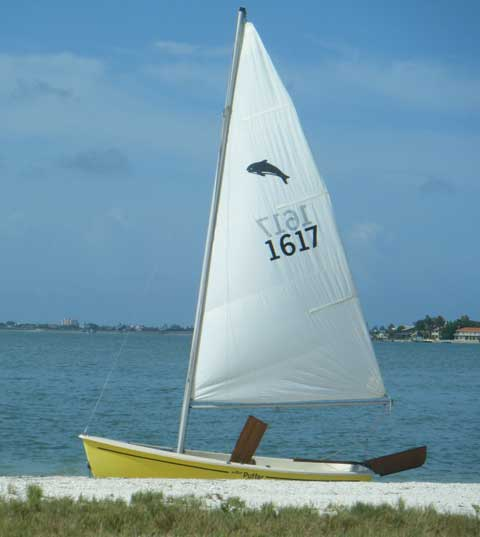 AMF 12 Puffer 1981 Clearwater Beach Florida Sailboat