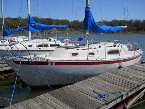 Irwin 285 1975 Dallas Texas Sailboat For Sale From