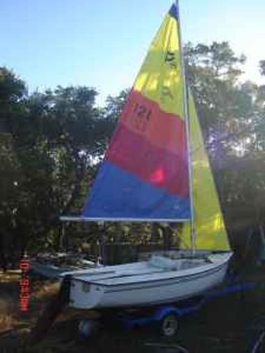 Precision 15 1991 Canyon Lake Texas Sailboat For Sale