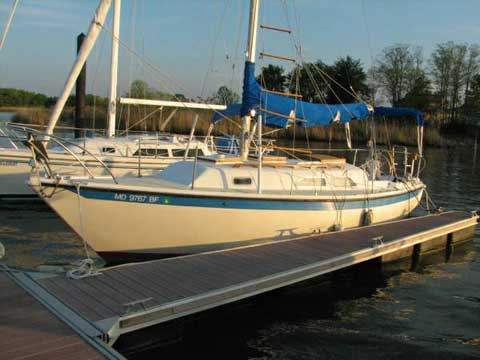 Ericson 27 1978 Annapolis Maryland Sailboat For Sale