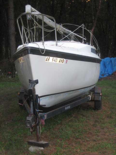 Macgregor 26d 1988 Hastings Florida Sailboat For Sale