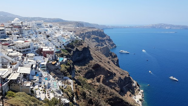 Photo de Thira, Bleu et blanc