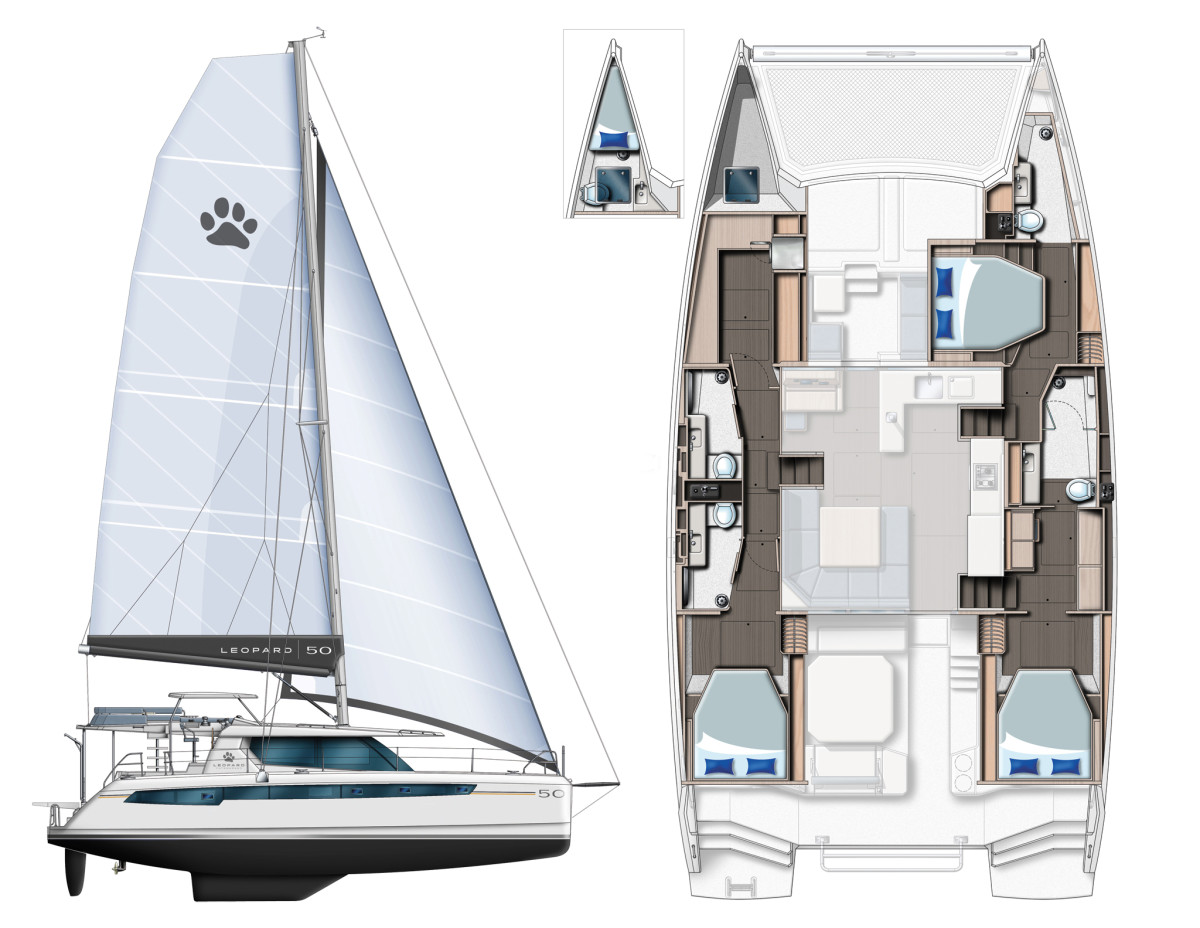 Boat Review Leopard 50 Sail Magazine