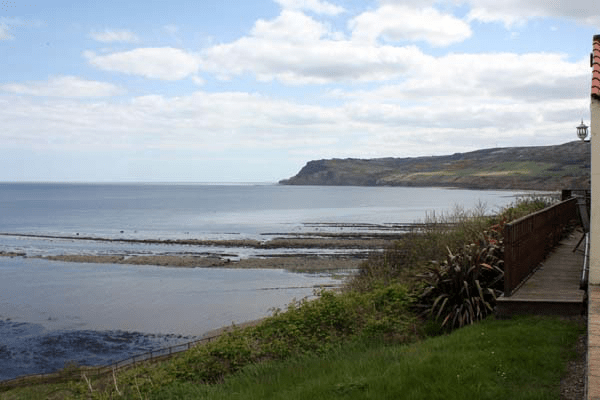 South towards Ravenscar