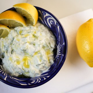 Tzatziki with Dill and Lemon