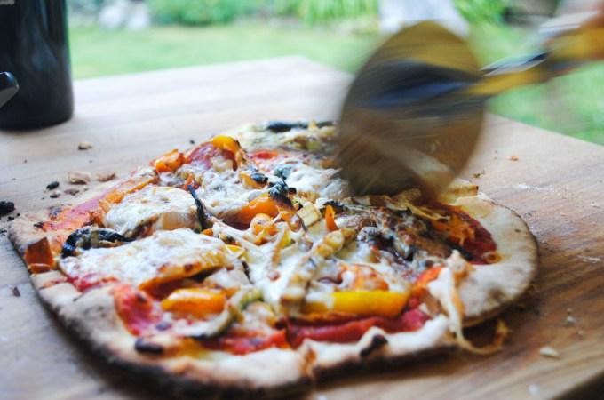 Thin Crust Pizza Dough Recipe | Sails & Spices