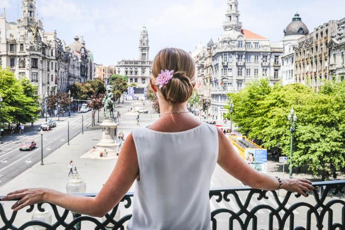 Liberdade Square Porto
