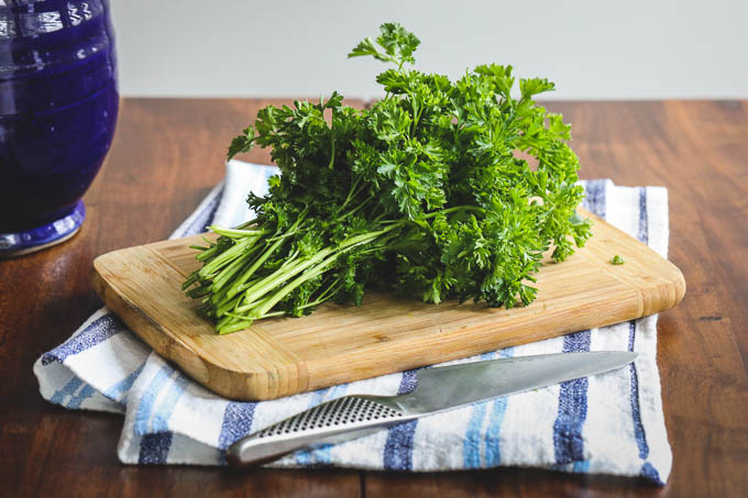 Parsley Basil Pesto Recipe