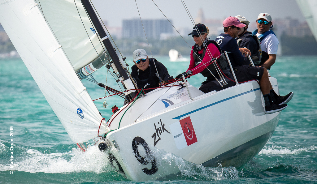 Bacardi Invitational – Day 2 for J/70, Melges 24, Viper 640 and Flying Tigers