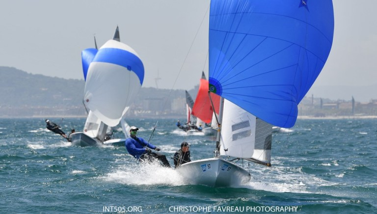 International 505 – Barcelona Open for Penny and Russ Clark