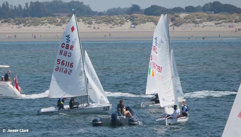 420 UK National Championship at Hayling Island – Day 1