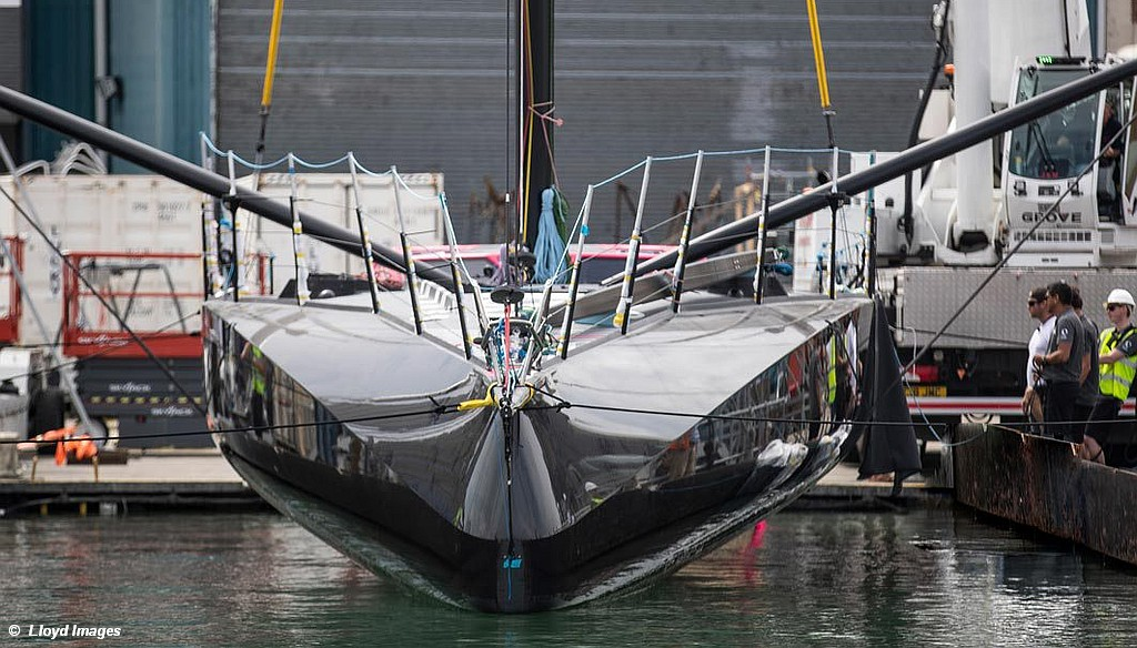 A look at the new Hugo Boss from AC75 builder Carrington Boats