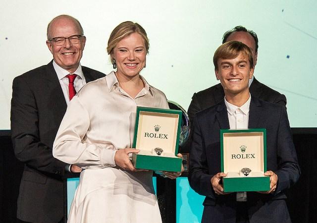 WS Rolex World Sailor Award