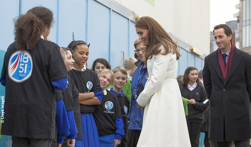 Kate and Ben meet to promote The 1851 Trust