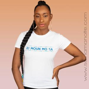 T-shirt Ki moun mo sa