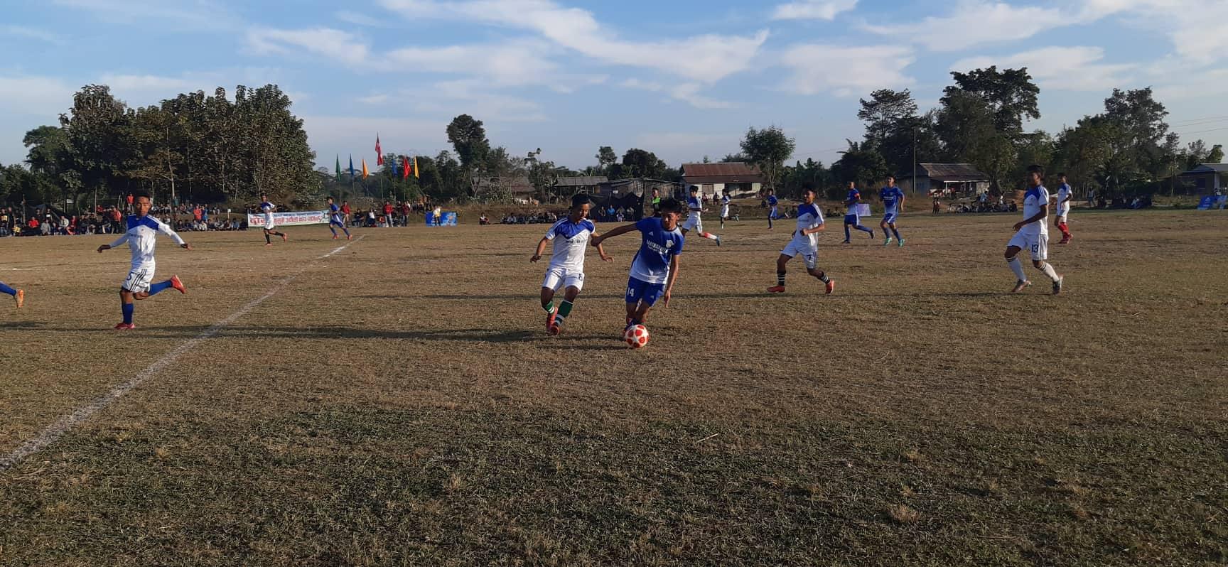 दोस्रो कुसुमे उभौली कपः रोयल फुटबल क्लब दोस्रो चरणमा
